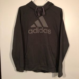 adidas Pullover Sweatshirt Hoodie (Medium)